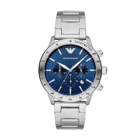 Relógio Emporio Armani Mario Masculino Prata AR11306/1AN