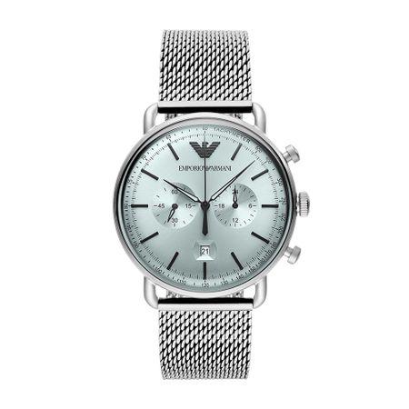 Relógio Emporio Armani Aviator Masculino Prata AR11288/1KN