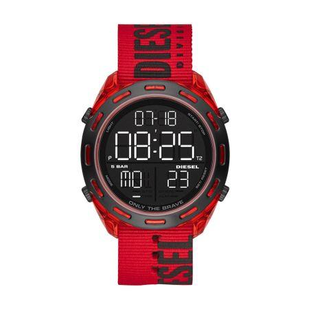 Relógio Diesel Crusher Masculino Vermelho DZ1916/8RN