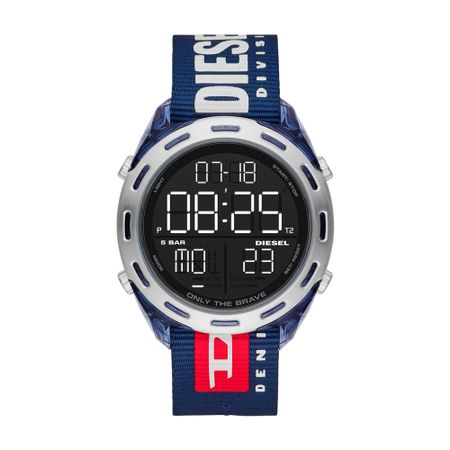 Relógio Diesel Crusher Masculino Azul DZ1915/8AN
