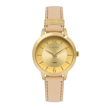 Relógio Condor Feminino Top Fashion Dourado - CO2035KYY/K2D