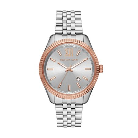 Relógio Michael Kors Feminino Lexington Prata MK8753/1KN