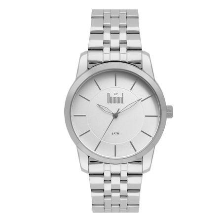 Relógio Dumont Feminino London Prata DU2035MNS/K3K