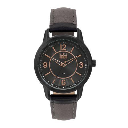 Relógio Dumont Feminino London Preto DU2035MNR/K4P