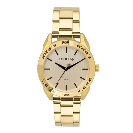 Relógio Touch Feminino Vital Dourado - TW2035LBA/4D