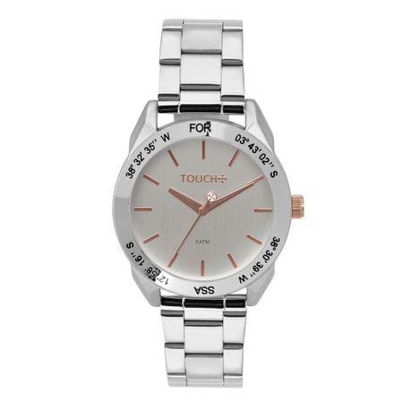 Relógio Touch Feminino Vital Prata - TW2035LBB/3K