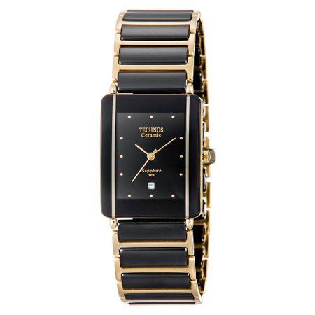Relógio Technos Feminino Ceramic Dourado GN10AAPAI/4P