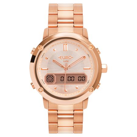Relógio Euro Feminino Sporty Lux Rosé EUBJ3890AB/4J