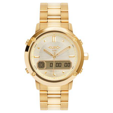 Relógio Euro Feminino Sporty Lux Dourado EUBJ3890AA/4D