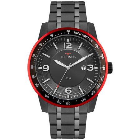 Relógio Technos Masculino Racer Preto - 2117LBA/4P