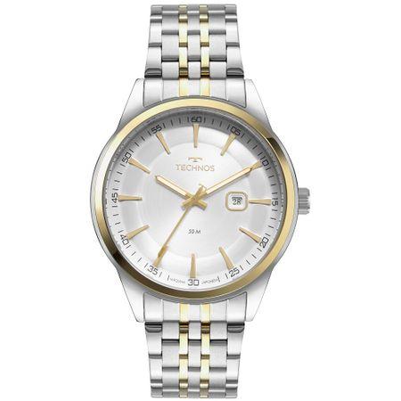 Relógio Technos Masculino Steel Prata - 2117LCX/1K